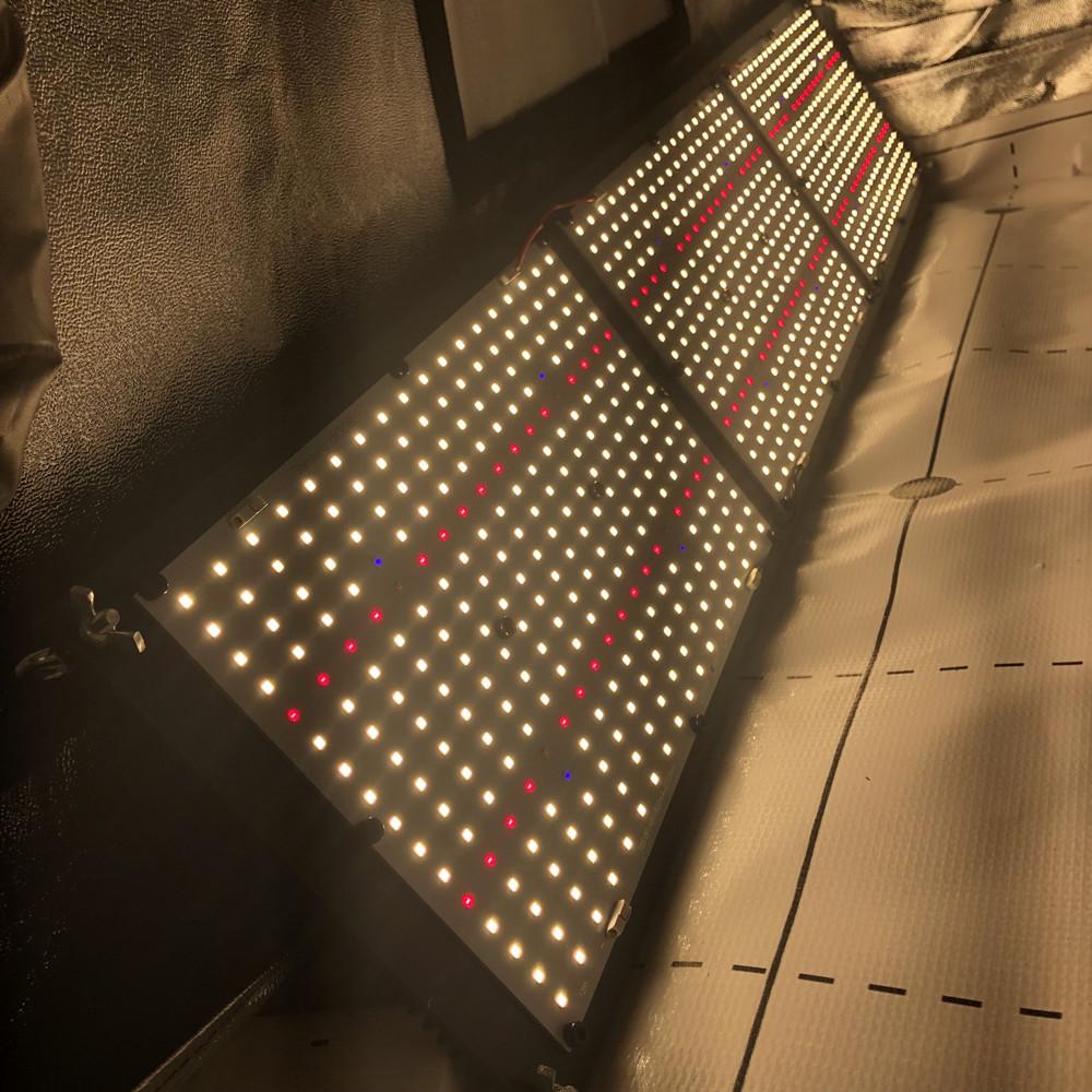 320W QB288 lm301B+epistar 660nm +UV+IR led quantum grow light for greenhouse